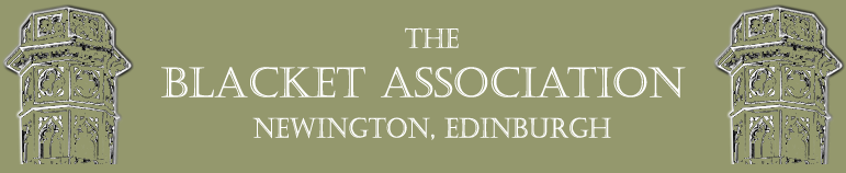 The Blacket Association; Newington, Edinburgh